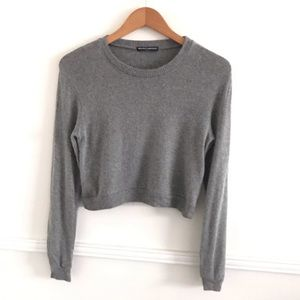 Brandy Melville One Size Gray Sweater